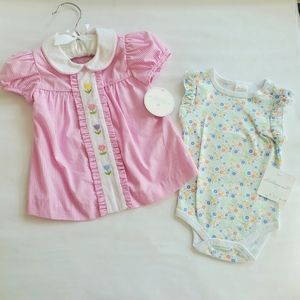 New Edgehill Collection dress / Starting Out onsie
